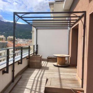 pergola design terrasse ville étage 1