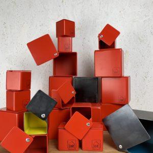 Cuboxes metalbox Rouge