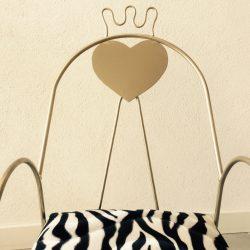 Royal fauteuil enfant pour princesse 1